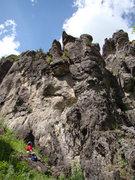 Rock Climbing Photo: Great day, great climb!