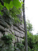 Rock Climbing Photo: Devil's Den Cave Wall Left Side