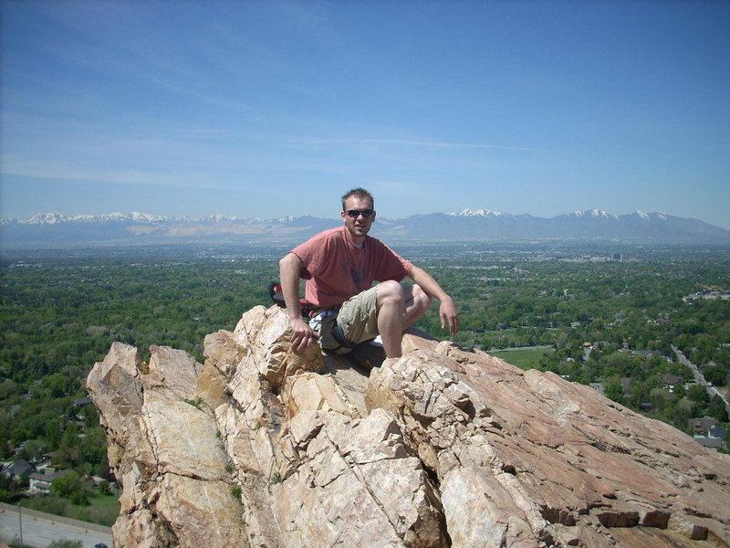 Rock Climbing Photo: slc