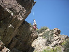 Rock Climbing Photo: up or down