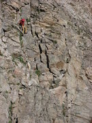 Rock Climbing Photo: One of the places you have to go down considerably...