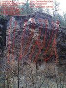 Rock Climbing Photo: vc wall update