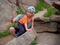 Rock Climbing Photo: First Mantle