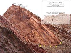 Rock Climbing Photo: A)Reptilian Curiosity 5.11R.B)Curiosity Killed the...