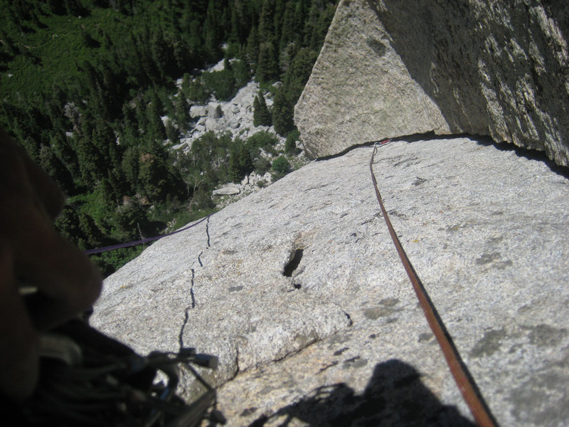 Rock Climbing Photo: The greatest lieback crack in the Wasatch?!