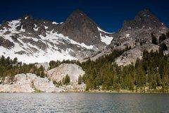 Rock Climbing Photo: Mt Ritter from Lake Ediza