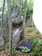 Rock Climbing Photo: looking the other driection (back toward the pound...