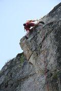 Rock Climbing Photo: High on Edge of Freedom.