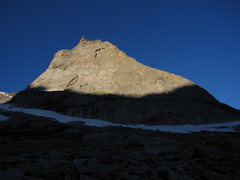 Rock Climbing Photo: Sun on the Spearhead.