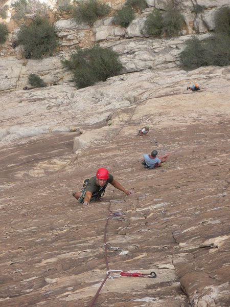 Following up the 3rd. Kevin and Sara working on the 2nd pitch below.