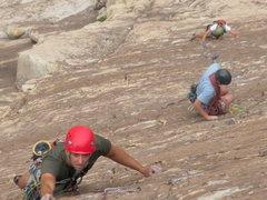 Rock Climbing Photo: 3rd pitch again.