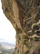 Rock Climbing Photo: Another hard day at the Orifice...Wall.