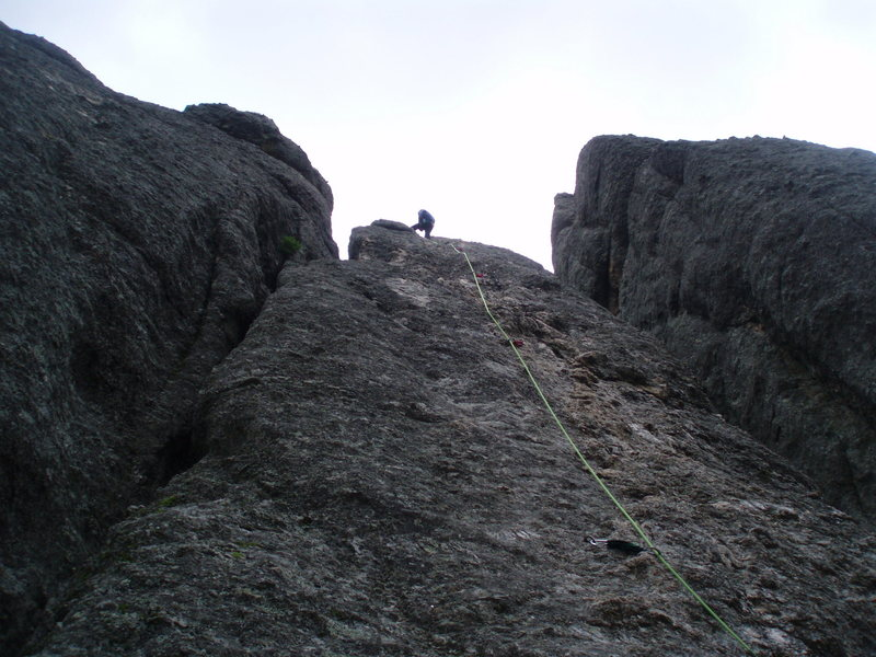 "Rock Climbing Photo: LEARNING THE ROPES THE ""HIGH"" WAY..."