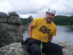 Rock Climbing Photo: WHERE DID I PUT THAT CAMERA?????