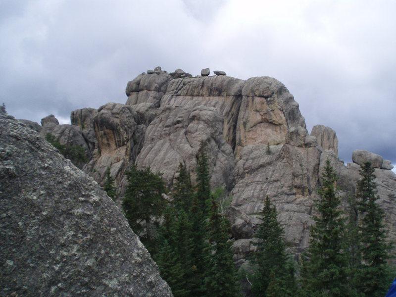 Rock Climbing Photo: BREATH-TAKING ISN'T IT????