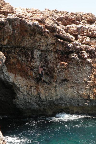Rock Climbing Photo: Chris on Gen Lock.