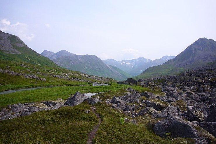 The Archangel Valley of Hatchers Pass