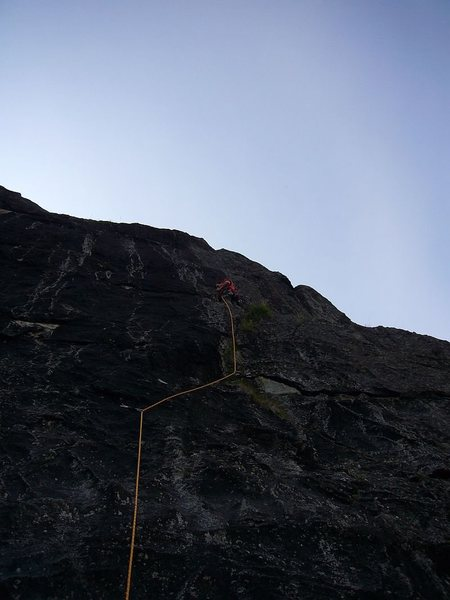 Rock Climbing Photo: The Archangel Valley of Hatchers Pass with Tom Scu...