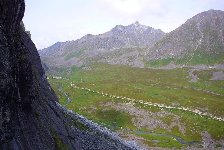 The Archangel Valley of Hatchers Pass...The view from the White Spot Wall