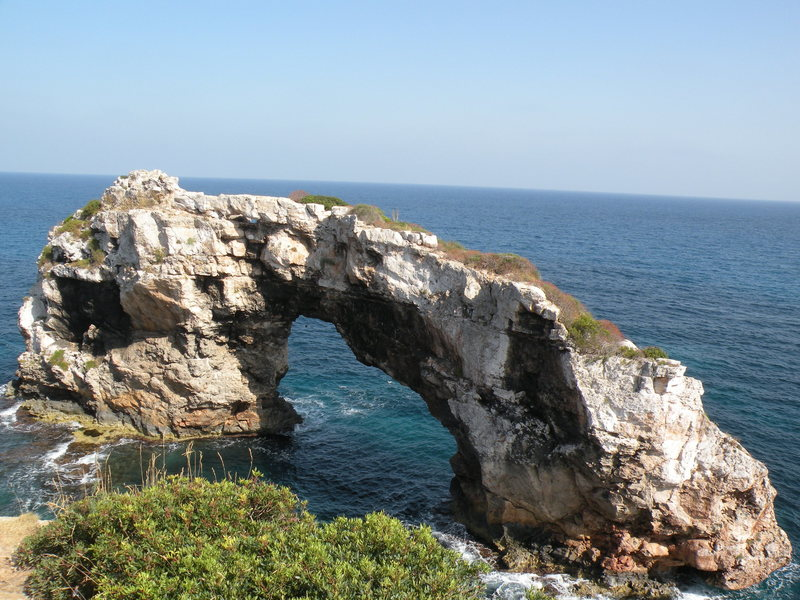 Rock Climbing Photo: Es Pontas
