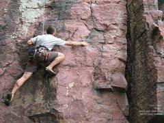 Rock Climbing Photo: Chris Cowan