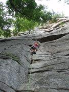 Rock Climbing Photo: the start of Bunny