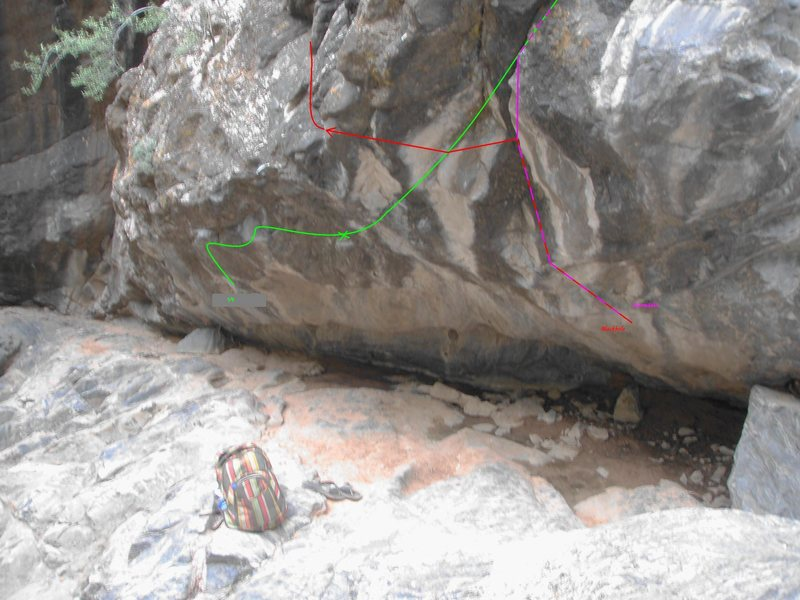 Rock Climbing Photo: Blackhole.