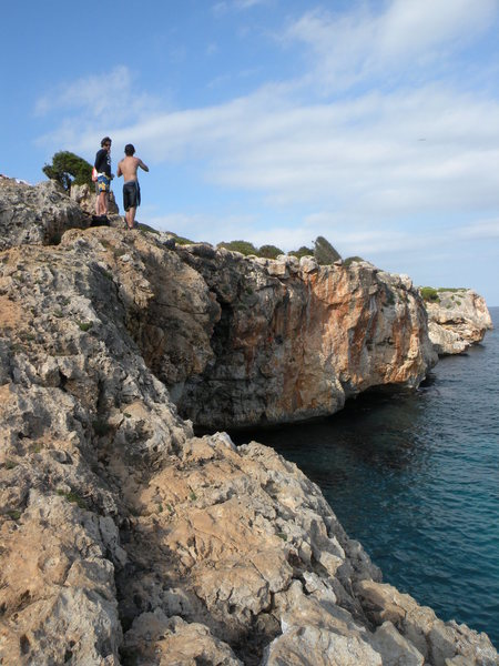 Rock Climbing Photo: A view of the Cova area as viewed from the approac...