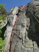 Climber on Here and Now