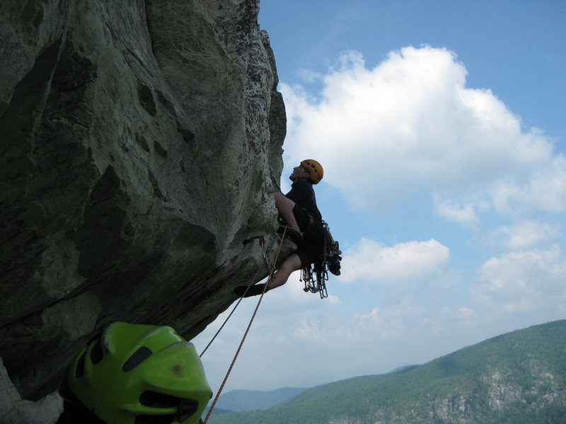 Rock Climbing Photo: lost in space 10b/c NC