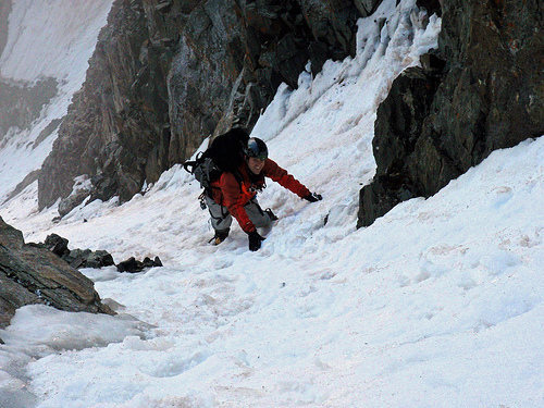 Rock Climbing Photo: Pacific peak