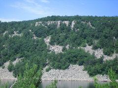 Rock Climbing Photo: West Bluff Rampart
