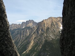 Rock Climbing Photo: Looking out towards Silverstar and the Wine Spires...