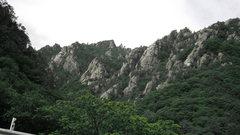 Rock Climbing Photo: Rock potential.