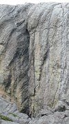 Rock Climbing Photo: The stunning Nick of Time