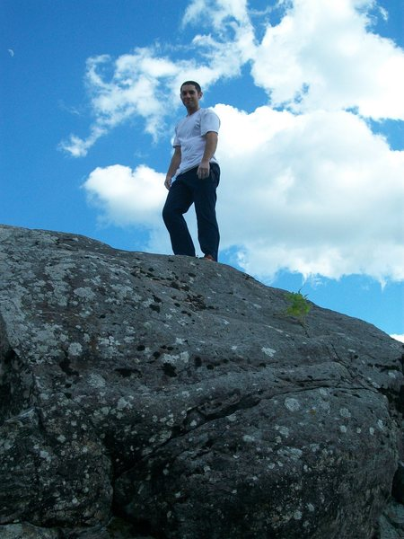 Rock Climbing Photo: that's me