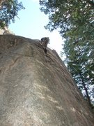 Rock Climbing Photo: Can't even see a crack from this angle...