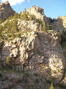 Rock Climbing Photo: Cobb Rock 7.7.09- the view