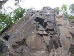 Rock Climbing Photo: Lexi on Blue Moon