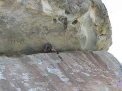 Rock Climbing Photo: Boxtop Traverse