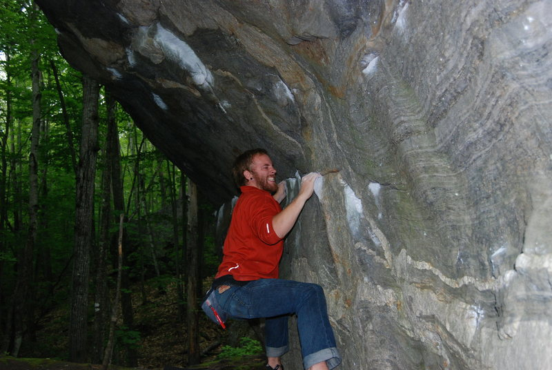 Rock Climbing Photo: If anyone says this route isnt pumpy just look at ...