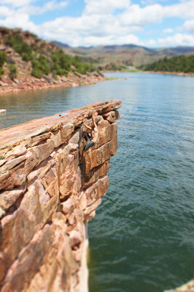 Flaming Gorge, Utah, Deep Water Solo