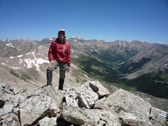Rock Climbing Photo: On UN 13140'.