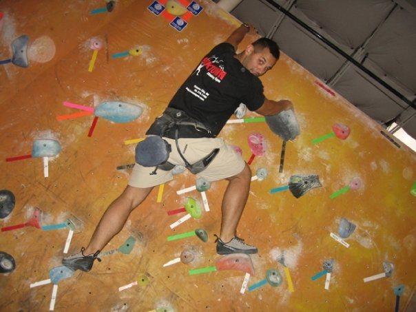 In dallas climbing<br> http://www.dallasclimbing.com/