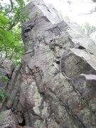 Rock Climbing Photo: Front of the formation