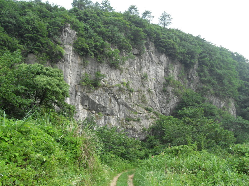 Rock Climbing Photo: Main crag.