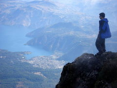 Rock Climbing Photo: Volcan Atitlan view