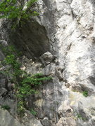 Rock Climbing Photo: Route A: Names coming soon...all the way on the le...