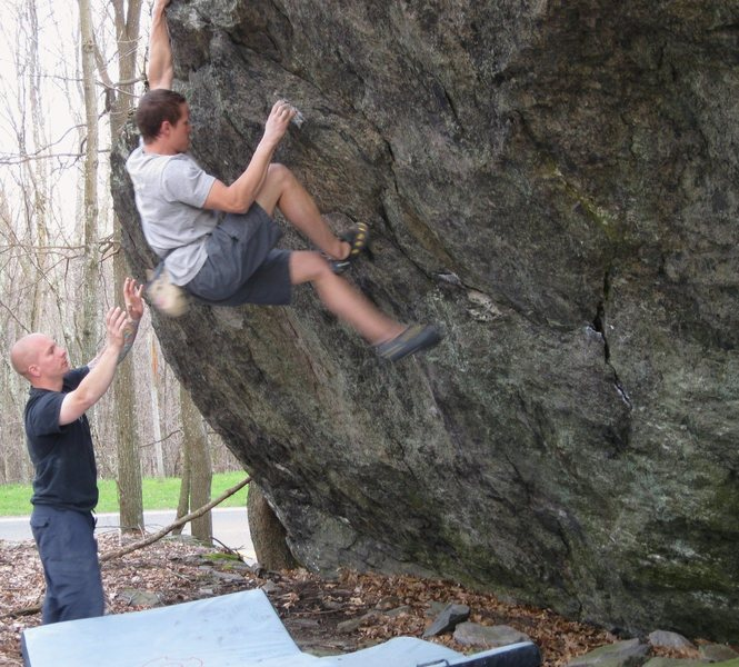 "Rock Climbing Photo: Shane Messer and friends on ""True Grit"",..."