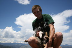 Rock Climbing Photo: pup and me